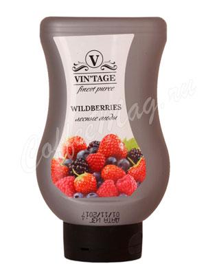Фруктовое пюре Vintage Лесные ягоды 650 г