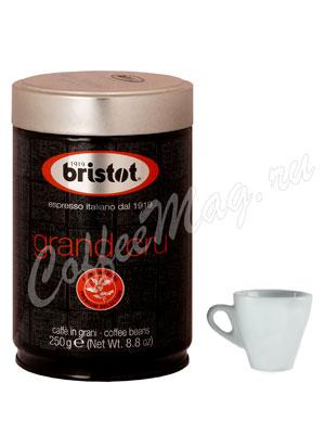 Кофе Bristot в зернах Santo Domingo 250 гр ж.б.
