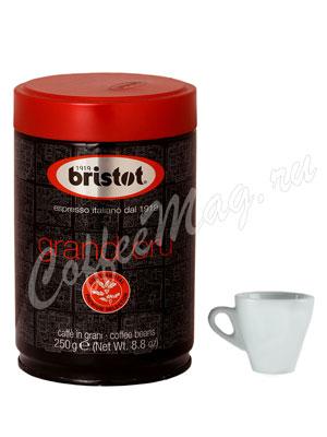 Кофе Bristot в зернах India 250 гр ж.б.