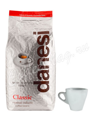 Кофе Danesi в зернах Classic 1кг