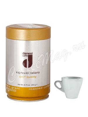 Кофе Danesi в зернах Gold 250 г