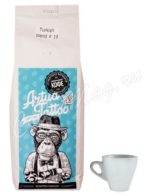 Кофе Artua Tattoo Coffeelab Turkish Blend 19 в зернах 1 кг