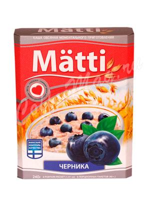 Matti Каша овсяная с черникой