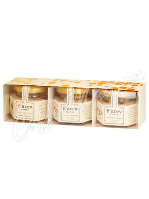 Подарочный набор Меда Barev honey (цветочный луговой, грецкий орех, шелковица )