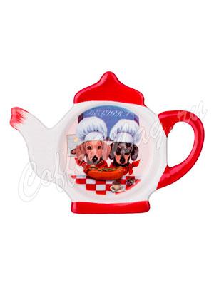 Подставка под чайные пакеты Agness Таксы-Поворята (358-1193)