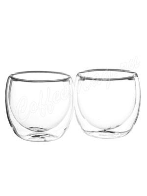 Набор из двух чашек Bellavita с двойными стенками 200 мл BV-364