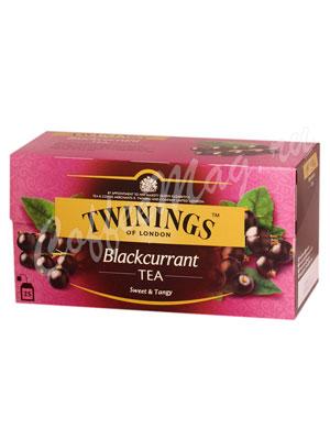 Чай Twinings Черный Черная Смородина (25 пакетиков)