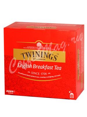 Чай Twinings English Breakfast Tea (50 пакетиков)
