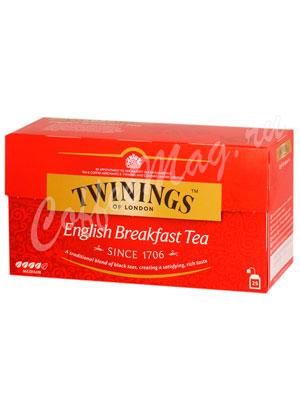 Чай Twinings English Breakfast Tea (25 пакетиков)