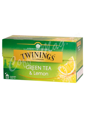 Чай Twinings Green Lemon 25 пак.