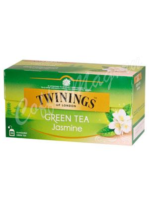 Чай Twinings Green Tea Jasmin Зеленый с жасмином 25 пак.