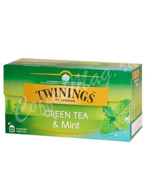 Чай Twinings Green Mint 25 пак.
