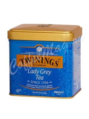 Чай Twinings Lady Grey 100 гр