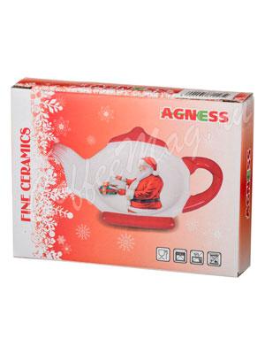 Подставка под чайные пакеты Agness С новым годом (358-1240)