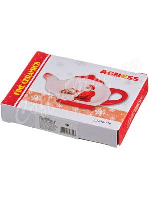 Подставка под чайные пакеты Agness С новым годом (358-716)
