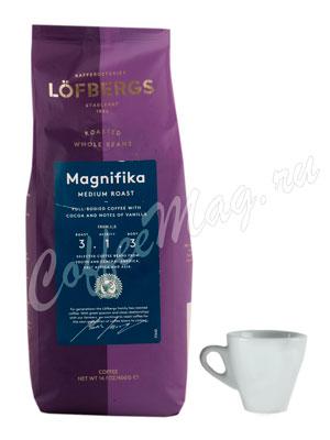 Кофе Lofbergs Lila в зернах Magnifica 400 гр