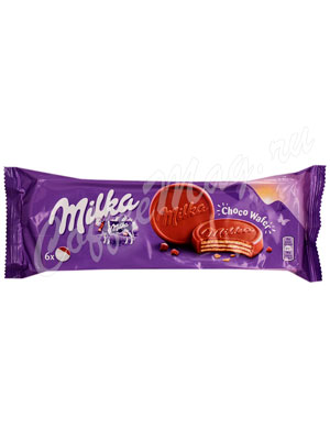 Бисквитное печенье Milka Choco wafer 150 г