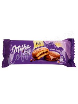 Бисквитное печенье Milka Choc chok 150 г