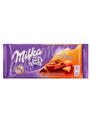 Шоколад Milka Collage 93 гр