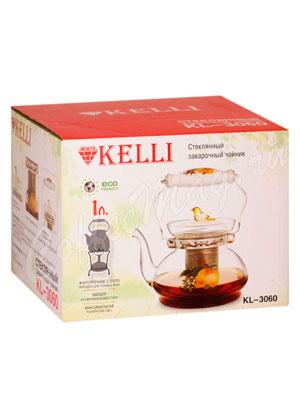 Чайник стеклянный Kelly KL-3060 1 л