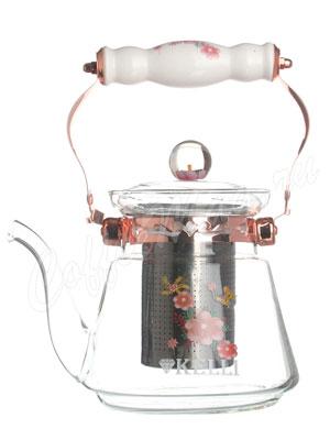 Чайник стеклянный Kelly KL-3057 0.8 л