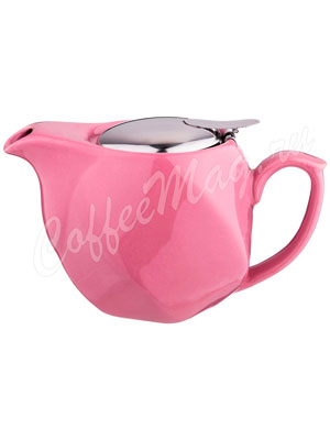 Заварочный Чайник Agness 500 мл розовый (470-352)