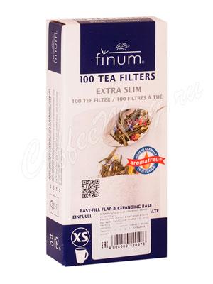 Одноразовые фильтры для чая Finum Xs отбеленные 100 шт