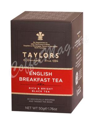 Чай Taylors of Harrogate пакетированный English Breakfast Английский завтрак 20 шт