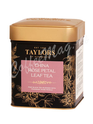 Чай Taylors of Harrogate листовой China Rose Petal Лепесток розы 125 г