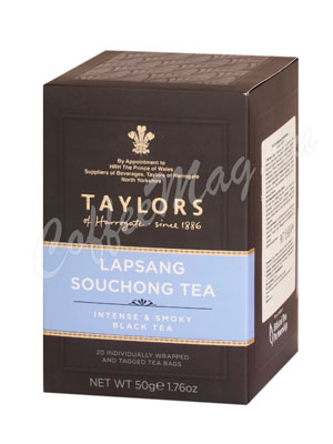 Чай Taylors of Harrogate пакетированный Lapsang Souchong Лапсанг Сушонг 20 шт