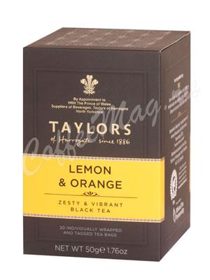 Чай пакетированный Taylors of Harrogate Lemon Orange / С ароматом лимона и апельсина 20 шт