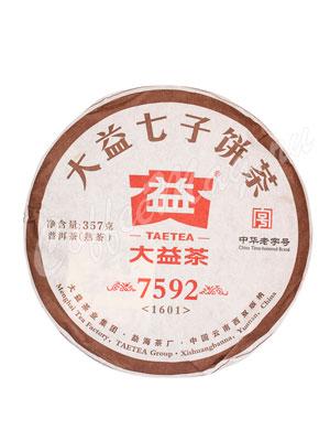 Пуэр блин Да И Шу 357 гр (7592)