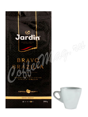 Кофе Jardin в зернах Bravo Brazilia 250 г