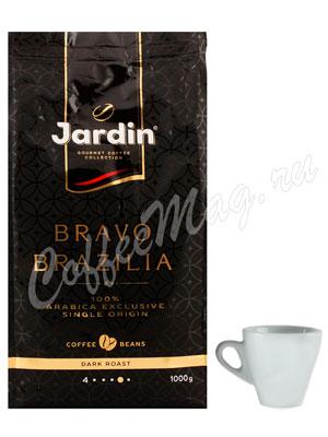 Кофе Jardin в зернах Bravo Brazilia 1 кг