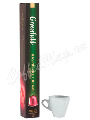 Чай Greenfield Nespresso Raspberry Cream 10 капсул