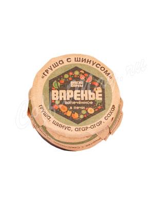 Варенье Вкусно Крым  Груша с шинусом 100 гр