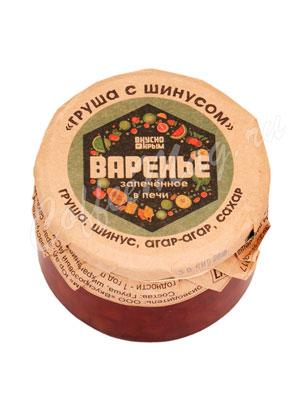 Варенье Вкусно Крым Груша с шинусом 250 гр