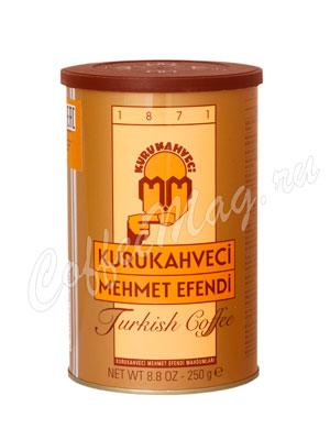 Подарочный набор Mehmet Efendi (кофе молотый 250 гр, чашки фарфоровые и турка 180 мл)