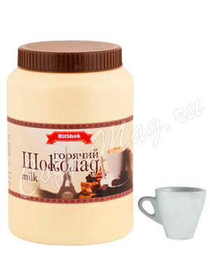 Горячий шоколад Hitshok Белый 1 кг, банка