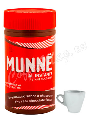 Какао-порошок Munne с сахаром, банка 453 г