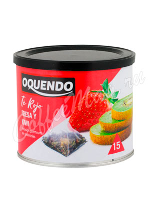 Чай Oquendo Клубника и Киви пирамидки 15 шт