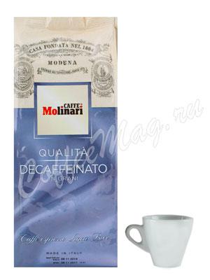 Кофе Molinari в зернах Decaf 500 г