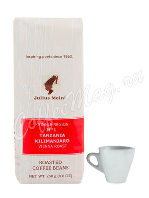 Кофе Julius Meinl в зернах Tanzania Kilimanjaro №1 250 гр