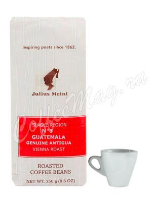 Кофе Julius Meinl в зернах Guatemala Genuine Antigua №3 250 гр