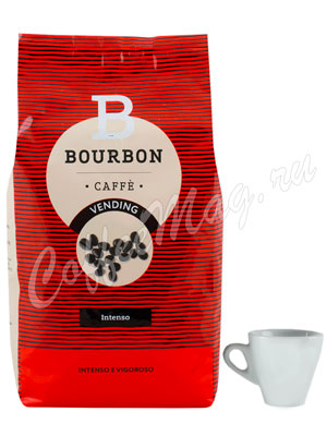 Кофе Lavazza в зернах Bourbon Intenso 1 кг