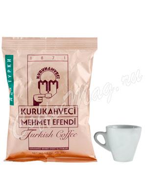 Кофе Mehmet Efendi Kurukahveci молотый для турки 100 г