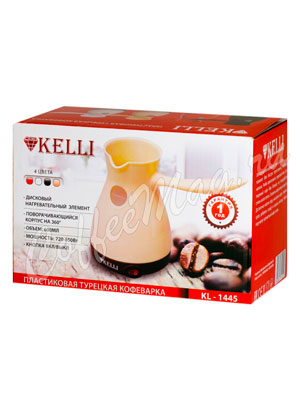 Турка электрическая Kelli KL-1445 600 мл (кремовая)