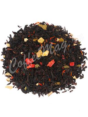 Черный чай Йогурт с малиной
