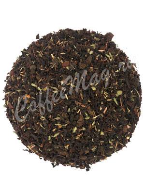 Черный чай с чабрецом и с Иван-чаем
