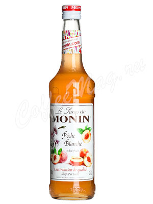 Сироп Monin Белый Персик 700 мл